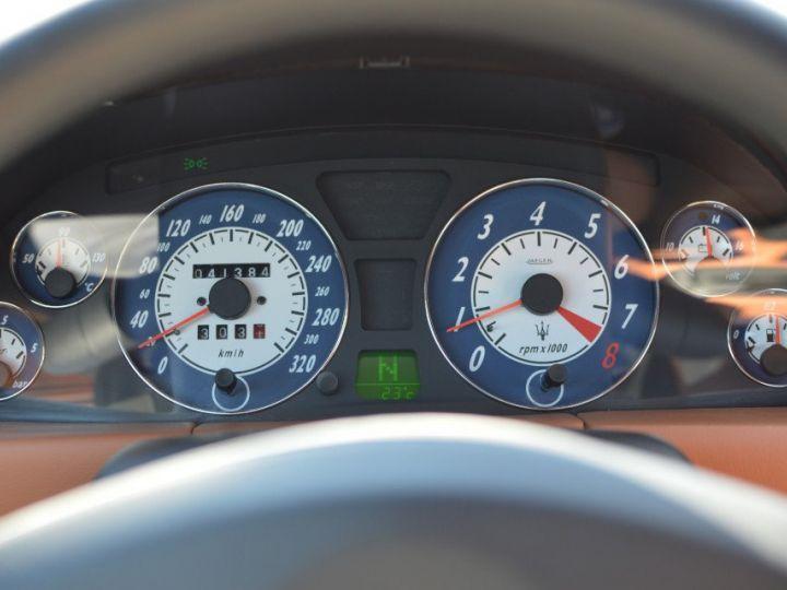 Maserati 4200 GT MASERATI COUPE 4200 GT PHASE 2 4.2 V8 390ch CAMBIOCORSA FAIBLE KILOMÉTRAGE noir - 19