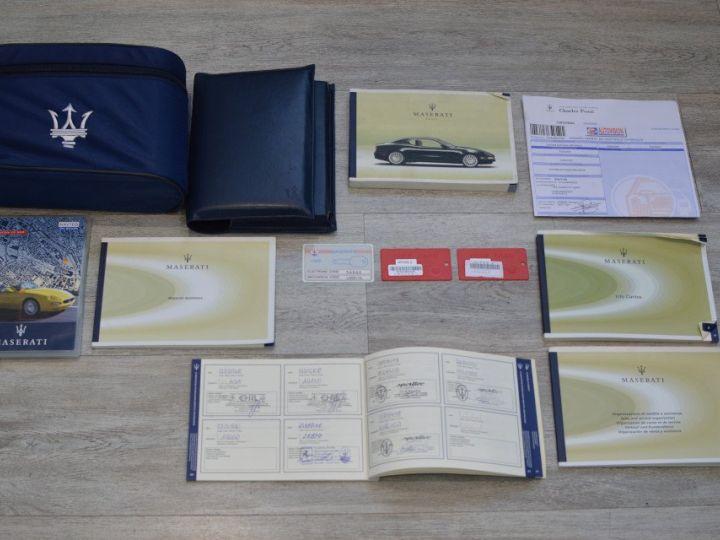 Maserati 4200 GT MASERATI COUPE 4200 GT PHASE 2 4.2 V8 390ch CAMBIOCORSA FAIBLE KILOMÉTRAGE noir - 21