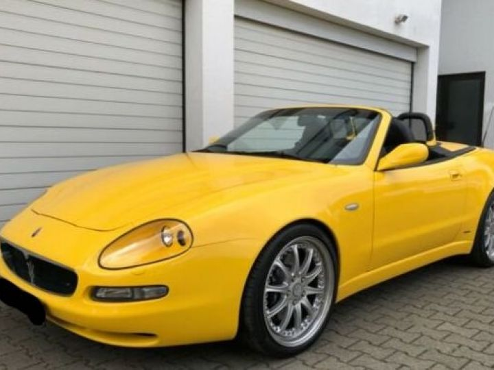 Maserati 4200 GT spyder cambiocorsa F1 jaune granturismo - 1