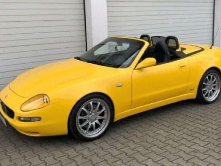 Maserati 4200 GT spyder cambiocorsa F1 jaune granturismo - 2