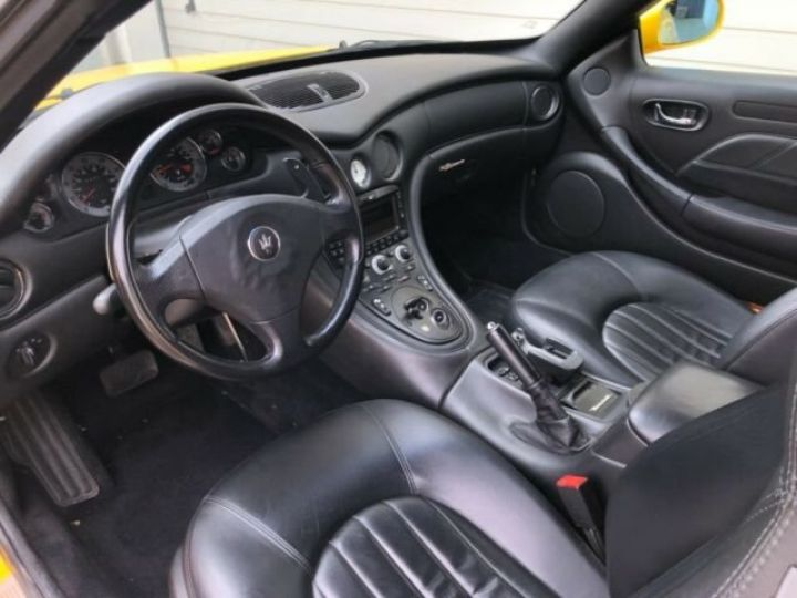 Maserati 4200 GT spyder cambiocorsa F1 jaune granturismo - 9