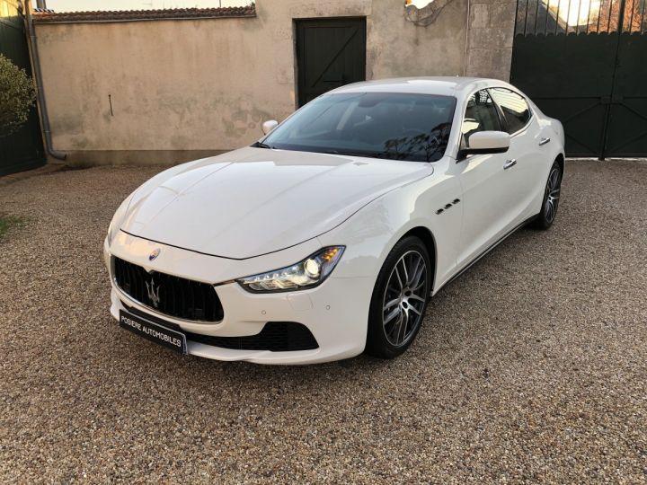 Maserati Ghibli Blanc - 1