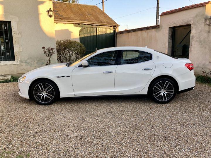 Maserati Ghibli Blanc - 2