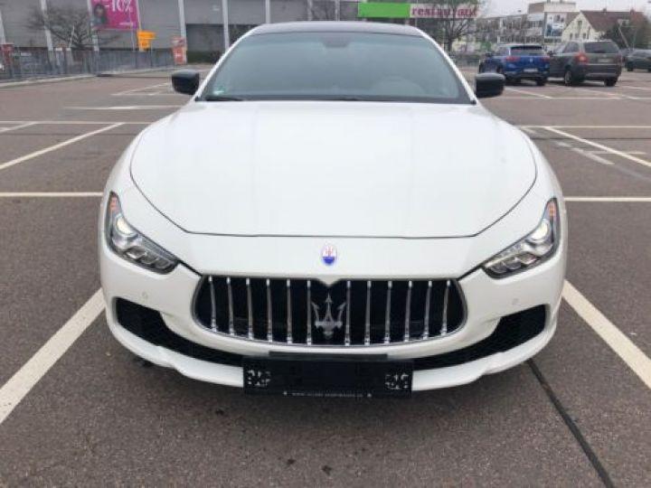 Maserati Ghibli 3.0 V6 275CH START/STOP DIESEL BLANC Occasion - 2