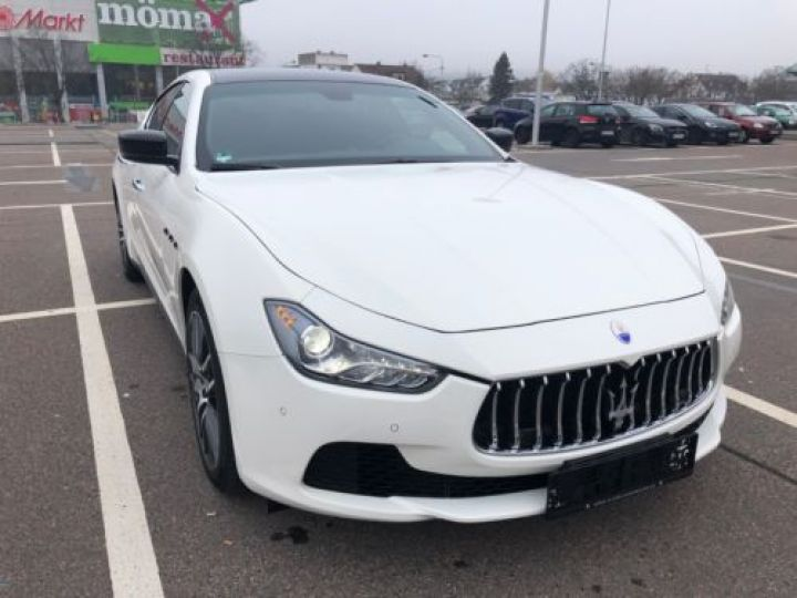 Maserati Ghibli 3.0 V6 275CH START/STOP DIESEL BLANC Occasion - 3