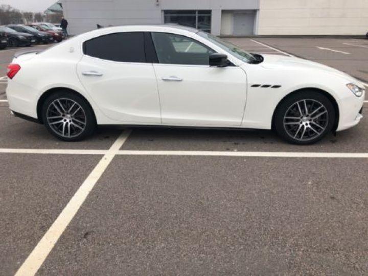 Maserati Ghibli 3.0 V6 275CH START/STOP DIESEL BLANC Occasion - 4