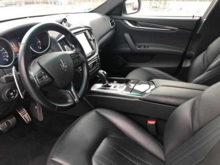 Maserati Ghibli 3.0 V6 275CH START/STOP DIESEL BLANC Occasion - 9