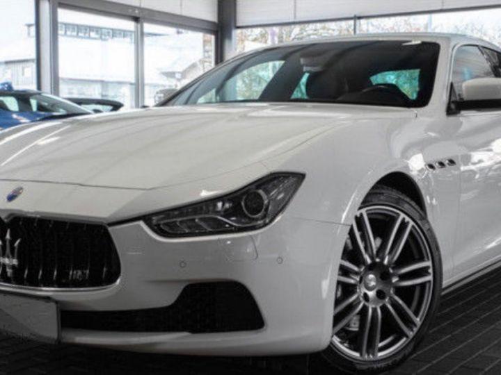 Maserati Ghibli 3.0 V6 DIESEL Blanc métallisé - 1
