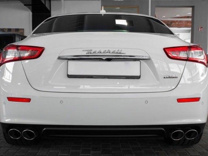 Maserati Ghibli 3.0 V6 DIESEL Blanc métallisé - 5