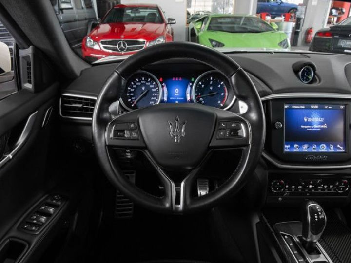 Maserati Ghibli 3.0 V6 DIESEL Blanc métallisé - 7