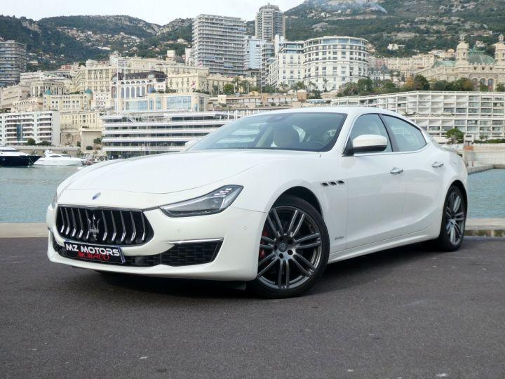 Maserati Ghibli 3 GRANLUSSO 3.0 V6 350 CV Bianco Alpi Vendu - 1