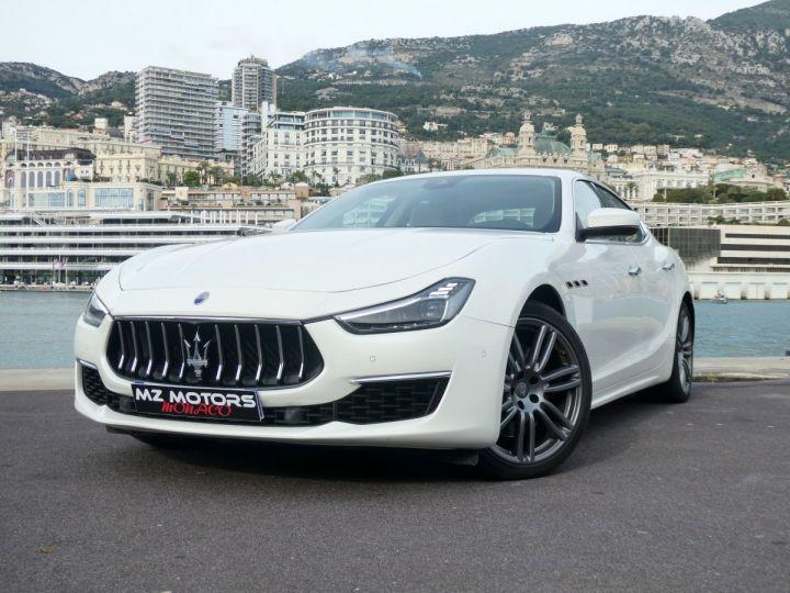 Maserati Ghibli 3 GRANLUSSO 3.0 V6 350 CV Bianco Alpi Vendu - 3