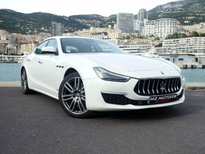 Maserati Ghibli 3 GRANLUSSO 3.0 V6 350 CV Bianco Alpi Vendu - 4