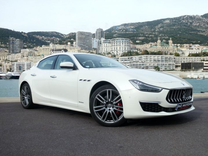 Maserati Ghibli 3 GRANLUSSO 3.0 V6 350 CV Bianco Alpi Vendu - 5