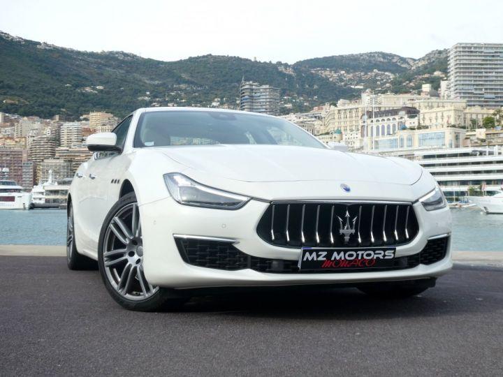 Maserati Ghibli 3 GRANLUSSO 3.0 V6 350 CV Bianco Alpi Vendu - 7