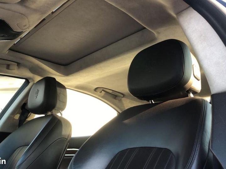 Maserati Ghibli iii 3.0 v6 diesel 275ch / francaise / led / gps / camera / garantie Gris métallisée  - 5