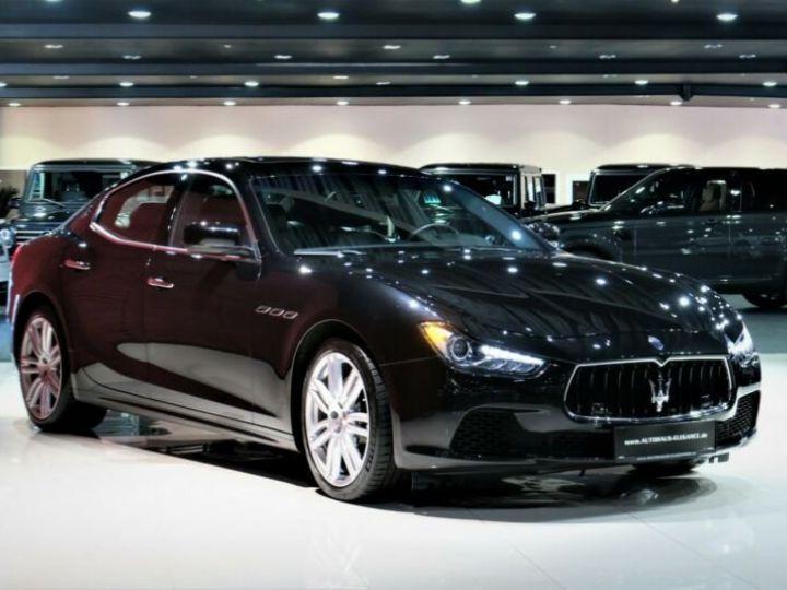 Maserati Ghibli Maserati Ghibli 3.0 V6 S Q4 automatique * BI-XENON * NAVI * 20 GARANTIE 12 MOIR Noir - 1