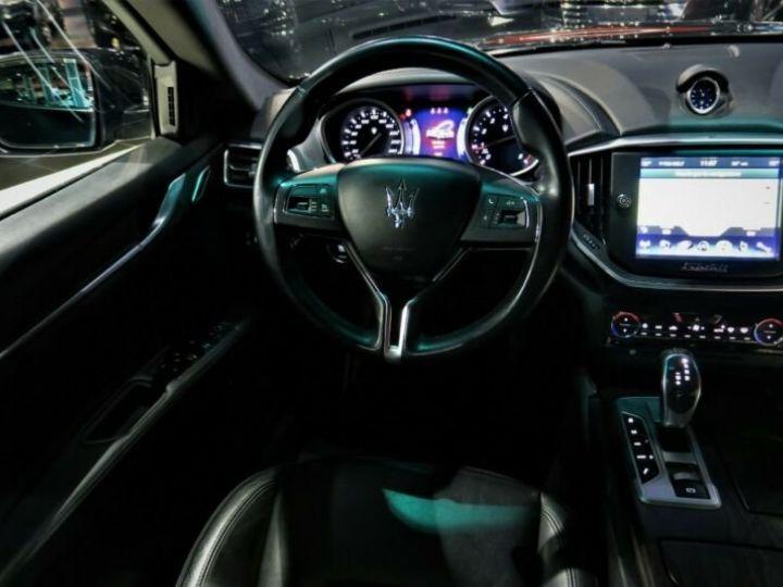 Maserati Ghibli Maserati Ghibli 3.0 V6 S Q4 automatique * BI-XENON * NAVI * 20 GARANTIE 12 MOIR Noir - 8