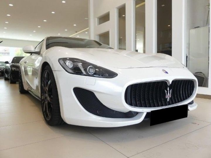 Maserati Gran Turismo 4.7 460CH SPORT BVA BLANC Occasion - 1