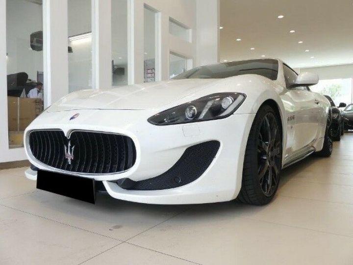 Maserati Gran Turismo 4.7 460CH SPORT BVA BLANC Occasion - 3