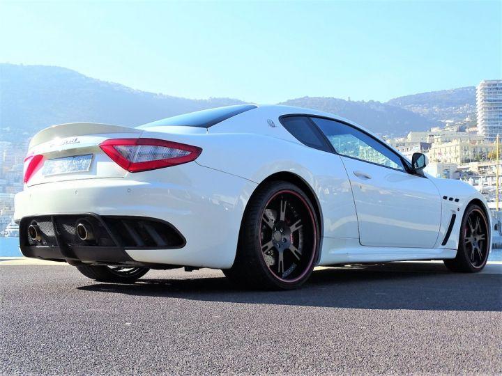Maserati Gran Turismo MASERATI GRANTURISMO MC STRADALE V8 4.7 F1 BVR 450 CV - MONACO Blanc Eldorado - 4