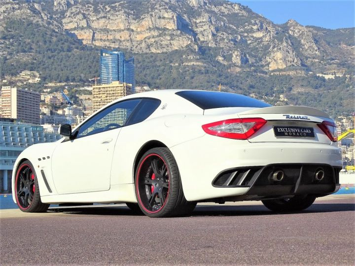 Maserati Gran Turismo MASERATI GRANTURISMO MC STRADALE V8 4.7 F1 BVR 450 CV - MONACO Blanc Eldorado - 5
