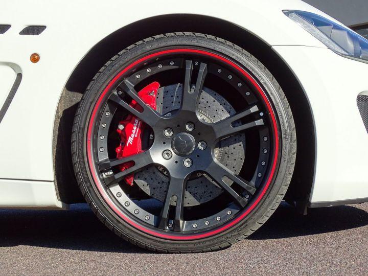 Maserati Gran Turismo MASERATI GRANTURISMO MC STRADALE V8 4.7 F1 BVR 450 CV - MONACO Blanc Eldorado - 21