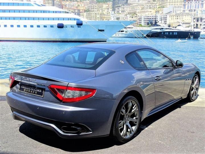 Maserati Gran Turismo SPORT V8 4.7 F1 BVR - 460 CV - MONACO  Gris Alfieri Métal - 3