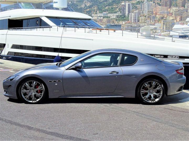 Maserati Gran Turismo SPORT V8 4.7 F1 BVR - 460 CV - MONACO  Gris Alfieri Métal - 5