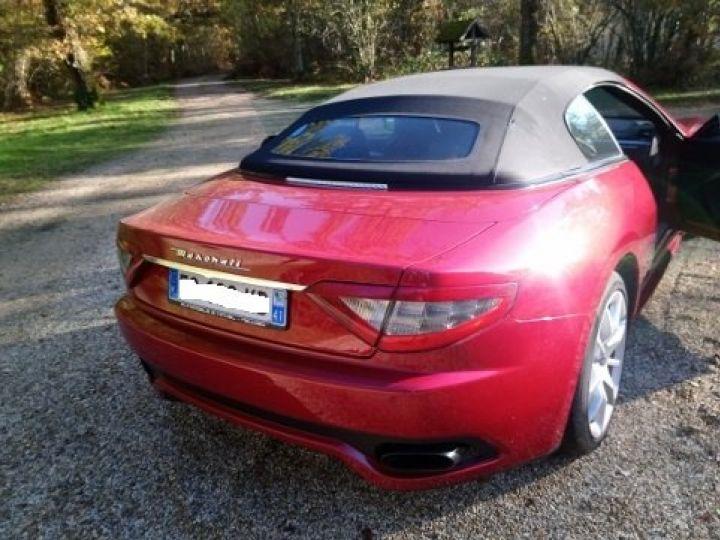 Maserati Grancabrio 4.7 V8 460 SPORT AUTOMATIQUE(03/2014) 13.700 KLM rouge métal Rosso Trionfale - 7