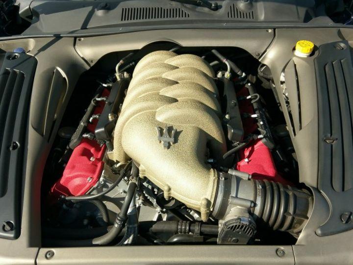 Maserati Gransport Cabriolet 400cv Bleu Netuno Occasion - 8