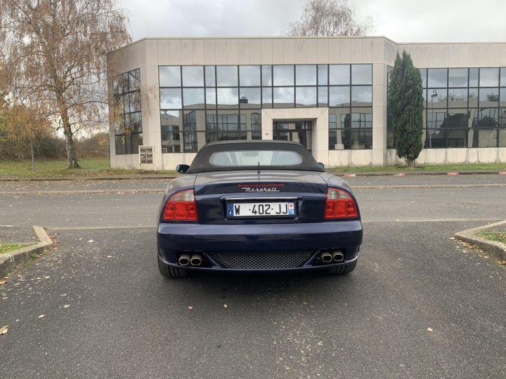 Maserati Gransport Cabriolet 400cv Bleu Netuno Occasion - 4