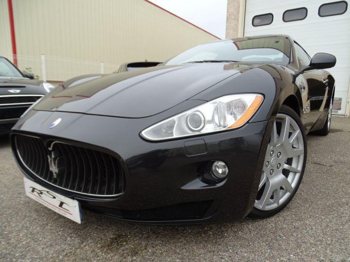 Maserati GranTurismo 4.2L BVA ZF 405PS/ Full Options jtes 20  PDC BOSE GPS ..... noir metallisé - 1