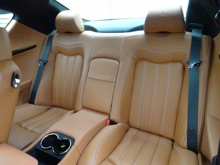 Maserati GranTurismo 4.2L BVA ZF 405PS/ Full Options jtes 20  PDC BOSE GPS ..... noir metallisé - 14