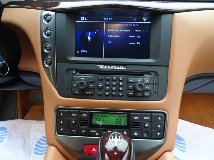 Maserati GranTurismo 4.2L BVA ZF 405PS/ Full Options jtes 20  PDC BOSE GPS ..... noir metallisé - 20