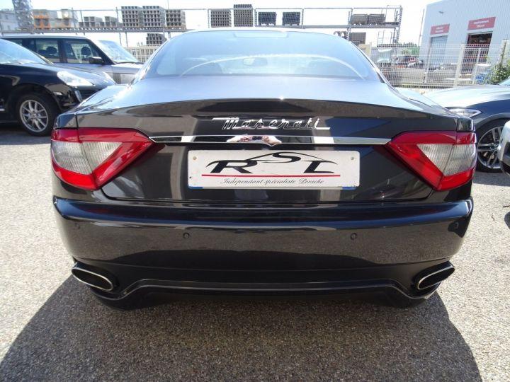 Maserati GranTurismo 4.7L F1 440Ps/ Embrayage neuf PDC GPS BOSE Jtes 20 noir métallisé - 7