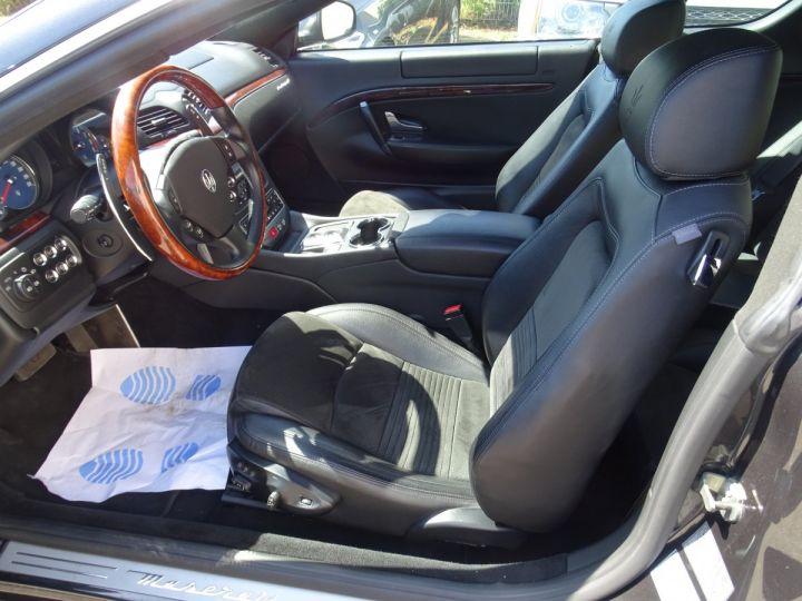 Maserati GranTurismo 4.7L F1 440Ps/ Embrayage neuf PDC GPS BOSE Jtes 20 noir métallisé - 9