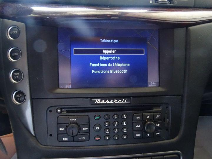Maserati GranTurismo 4.7L F1 440Ps/ Embrayage neuf PDC GPS BOSE Jtes 20 noir métallisé - 19