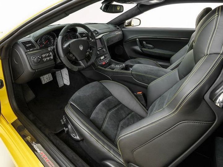 Maserati GranTurismo MC STRADALE JAUNE - 7