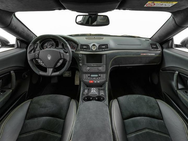 Maserati GranTurismo MC STRADALE JAUNE - 8