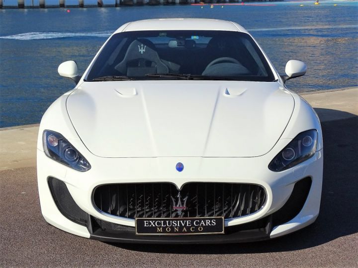 Maserati GranTurismo MC STRADALE V8 4.7 F1 BVR 450 CV - MONACO Blanc Eldorado - 2