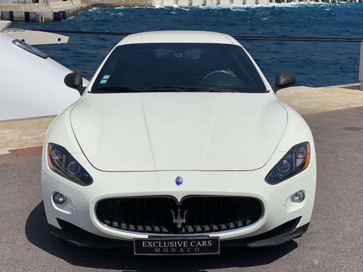Maserati GranTurismo S V8 4.7 F1 BVR 440 CV - MONACO Blanc  - 2