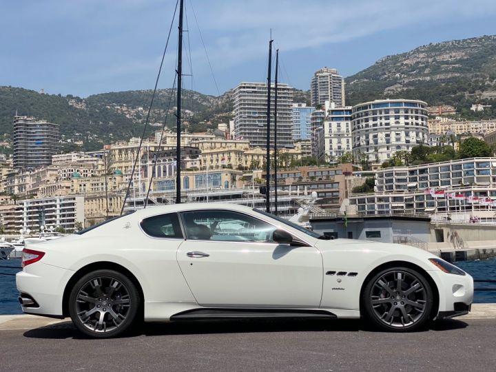 Maserati GranTurismo S V8 4.7 F1 BVR 440 CV - MONACO Blanc  - 4