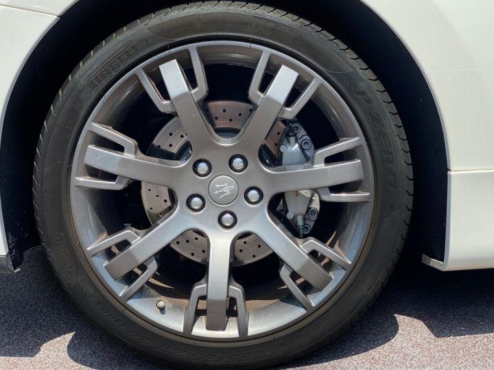 Maserati GranTurismo S V8 4.7 F1 BVR 440 CV - MONACO Blanc  - 5