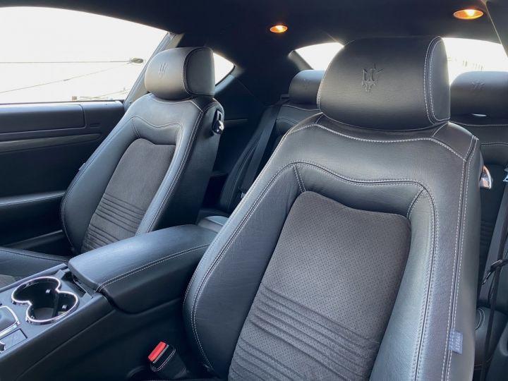 Maserati GranTurismo S V8 4.7 F1 BVR 440 CV - MONACO Blanc  - 7