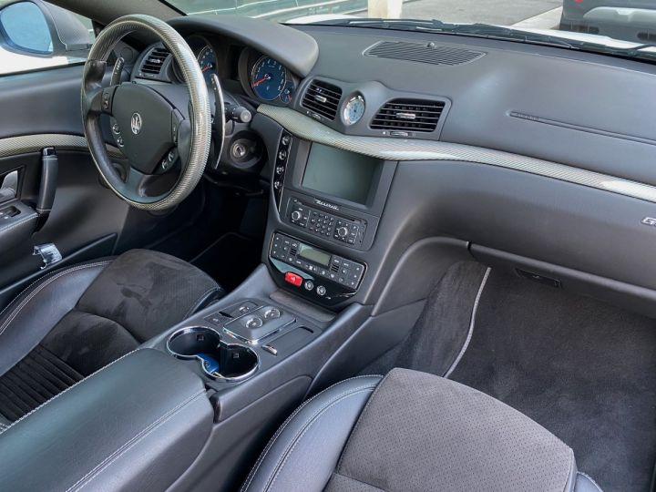 Maserati GranTurismo S V8 4.7 F1 BVR 440 CV - MONACO Blanc  - 9