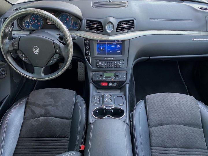 Maserati GranTurismo S V8 4.7 F1 BVR 440 CV - MONACO Blanc  - 13