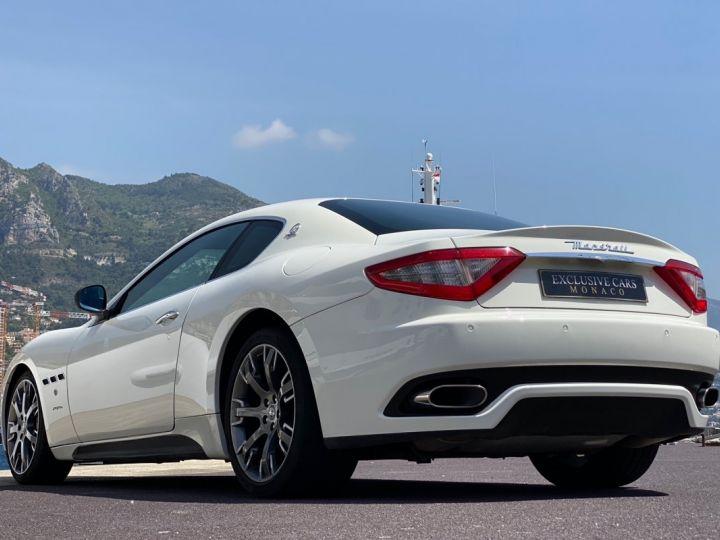 Maserati GranTurismo S V8 4.7 F1 BVR 440 CV - MONACO Blanc  - 16