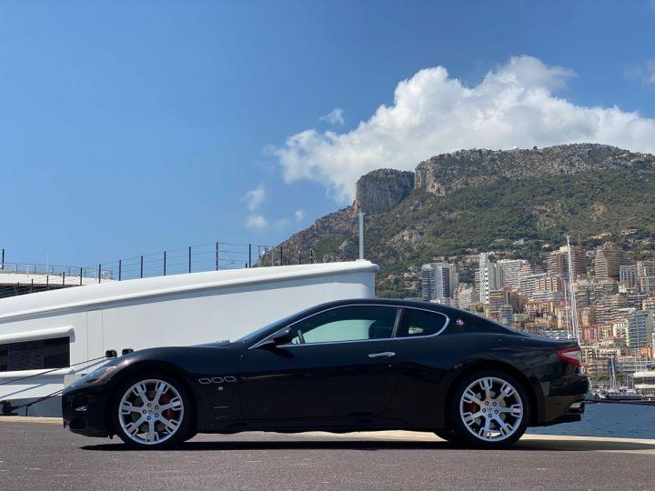 Maserati GranTurismo S V8 4.7 F1 BVR 440 CV - MONACO Noir Métal - 4