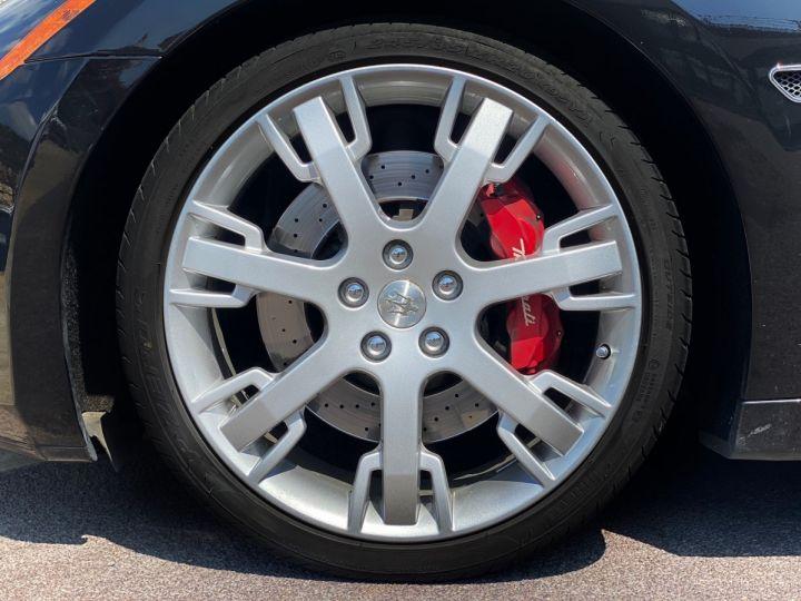 Maserati GranTurismo S V8 4.7 F1 BVR 440 CV - MONACO Noir Métal - 5